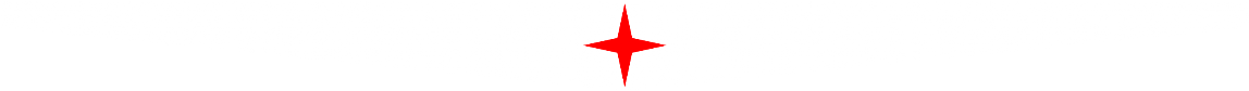 Fentex white and red star banner