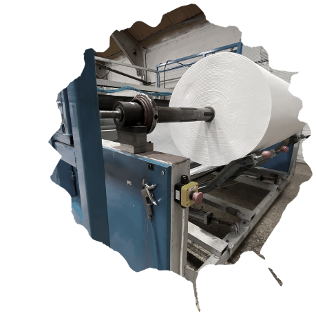 Fentex Wiper Solutions roll on machine image